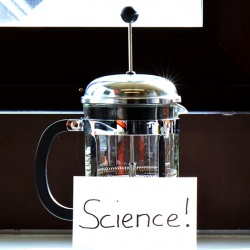 Science is in everyday life – illustrated on the example of cold extraction of coffee